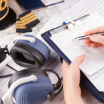 A pilot's use of a checklist can help save lives.  The same is true for the anesthesiologist. (Image source: Thinkstock)